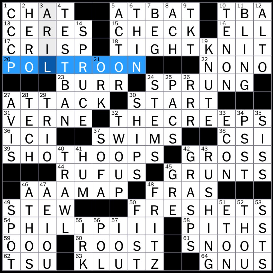 Financially ruined crossword clue