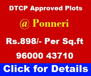 Ponneri Plots - Gomathi Amman Nagar
