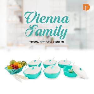 Vienna Family Tosca Set 2500 ML (Set of 6)