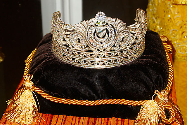 The Replica of Royal Tiara of Her Majesty Sultanah Haminah