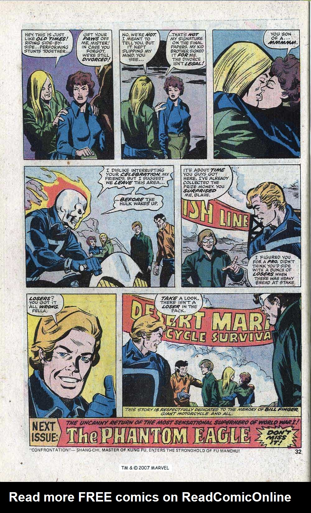 Ghost Rider (1973) Issue #11 #11 - English 34