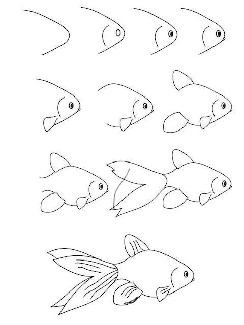 رسومات سهله وجميله بالقلم الرصاص