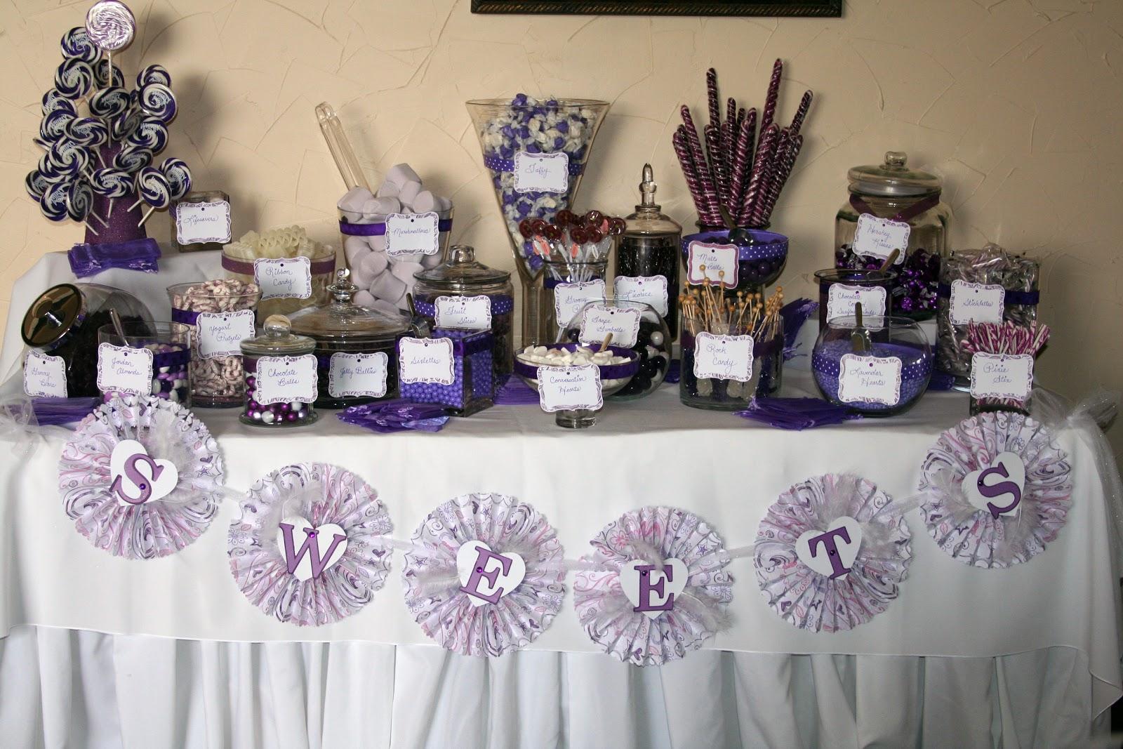 Averylee Designs: Candy Buffet