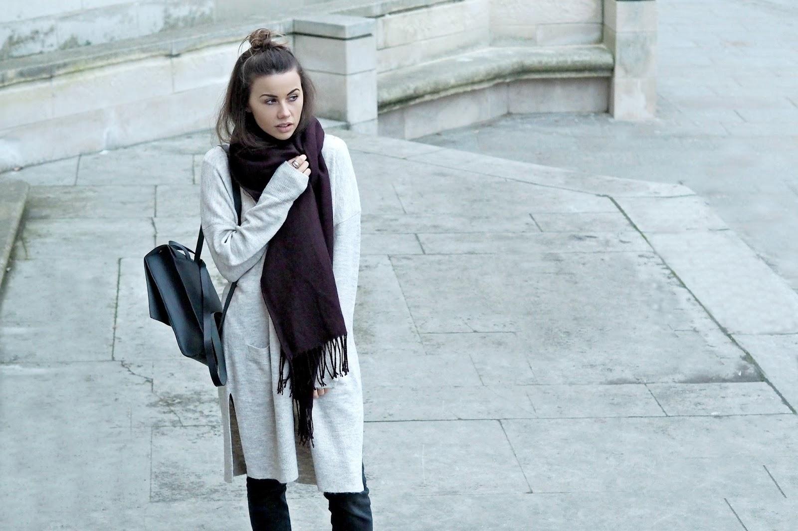 cosy ways style scarf, copper garden