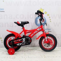 Sepeda Anak Golden Force BMX 12 Inci Red