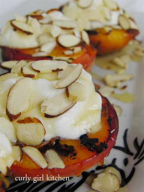 http://www.curlygirlkitchen.com/2013/07/grilled-peaches-with-fresh-goat-cheese.html
