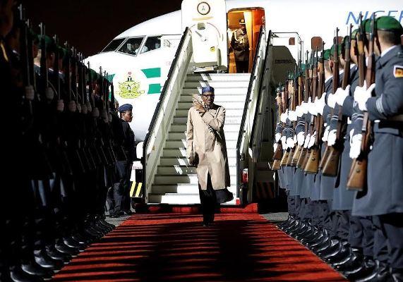 President Buhari arrives in Berlin, Germany (photos)