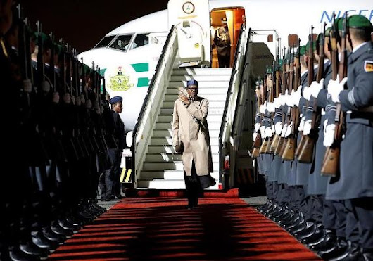 PHOTO: President Buhari arrives Berlin, Germany