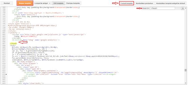 Cara Memasang ID Pelacakan Google Analytics Di Blog Cara Memasang ID Pelacakan Google Analytics Di Blog