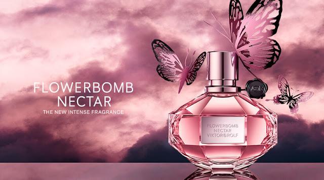 Oficjalna fotografia perfum Viktor&Rolf Flowerbomb Nectar