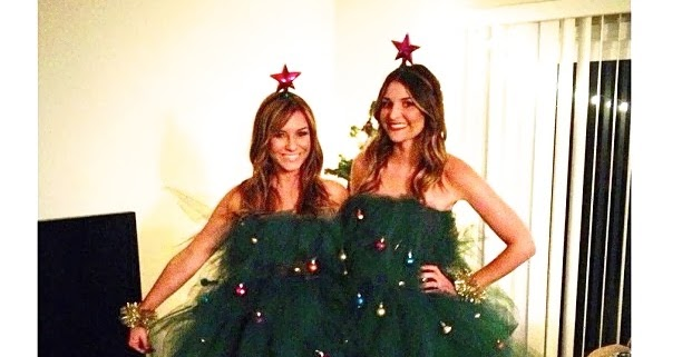 Sloppy Elegance Diy Christmas Tree Costume