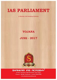 Yojna Gist - June - 2017 - Shankar IAS