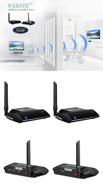 PAKITE Wireless HDMI Signal Extender
