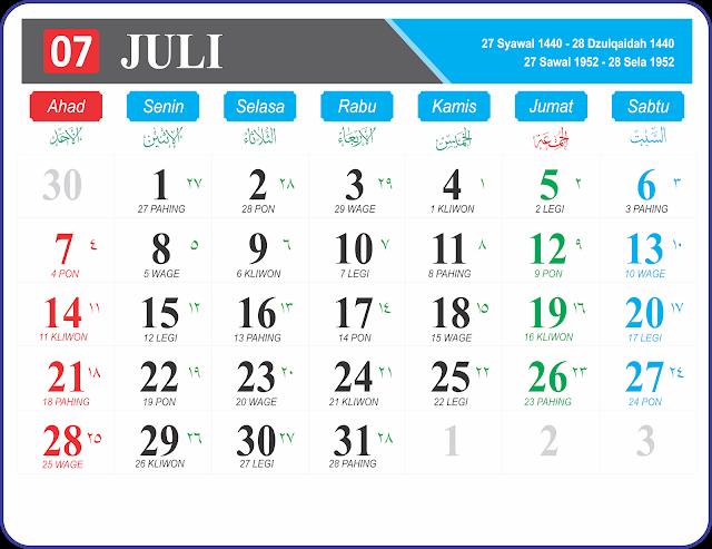 Juli 2019