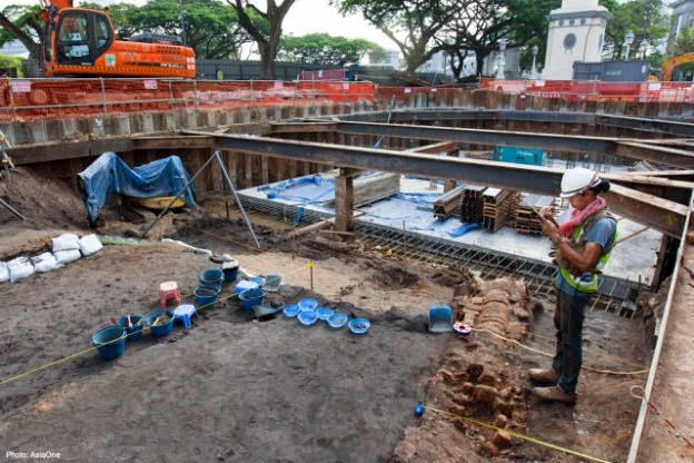 Dig shines new light on ancient Singapore