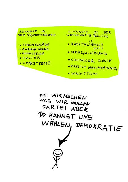 Dr. Kristian Stuhl 2012,  Du kannst uns wählen Demokratie, Das Klo spült alles fort, A4