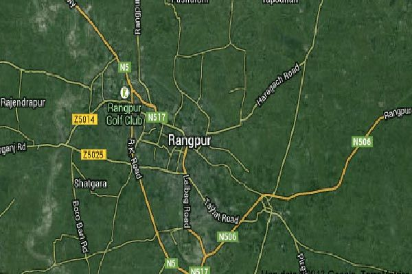 Allegedly-beating-his-wife-Rangpur