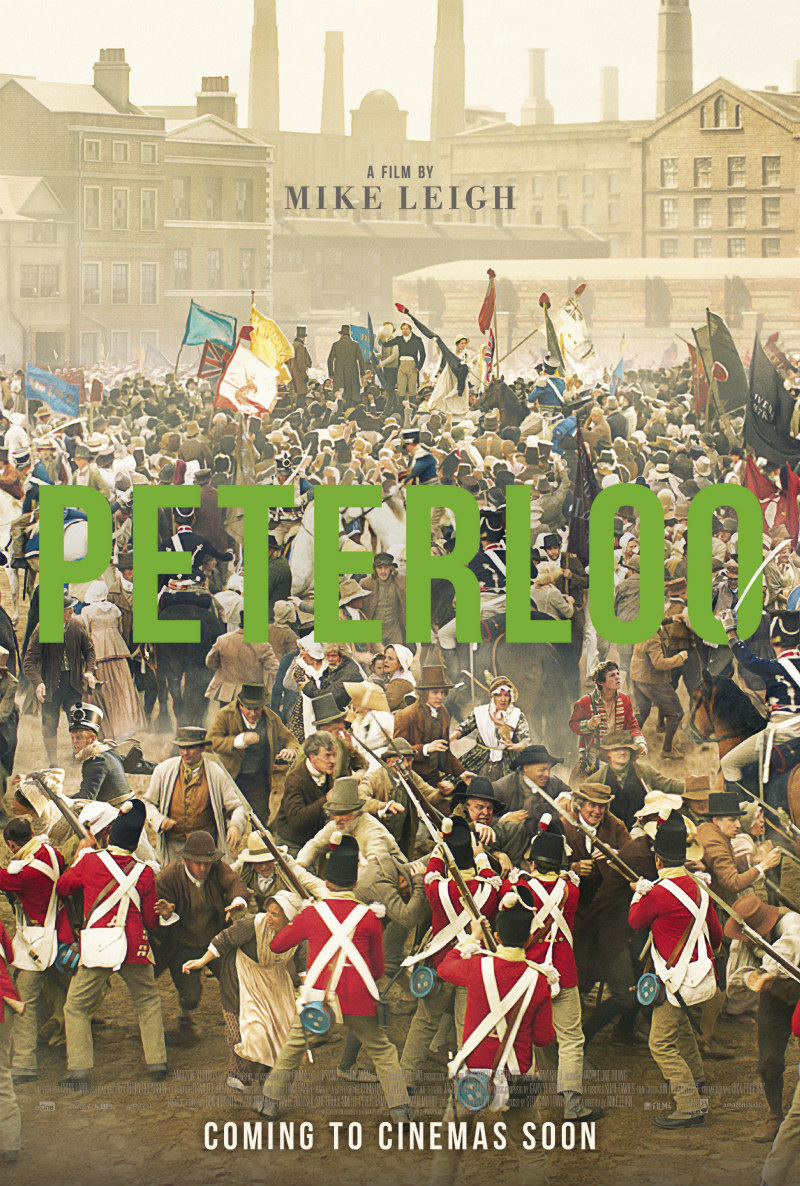 Mike Leigh's PETERLOO poster