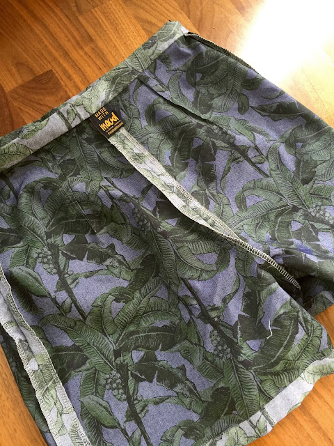Diary of a Chain Stitcher: Mood Fabrics Tropical Denim By Hand London Holly Shorts