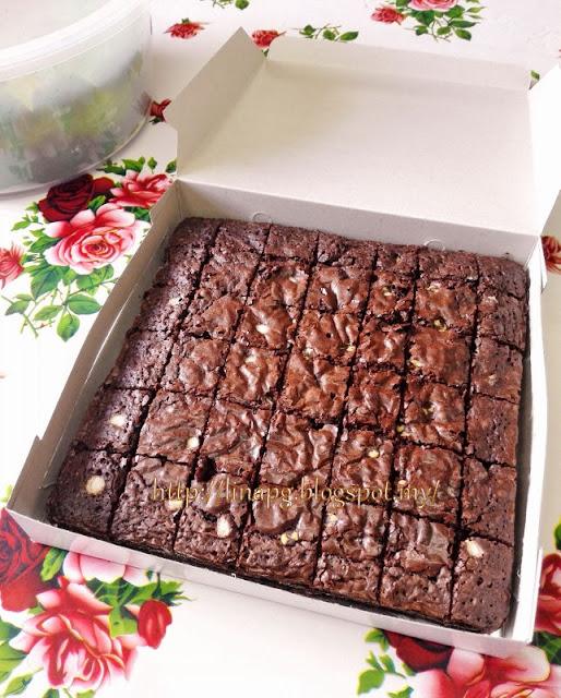 Brownies Kedut Pulau Pinang, Brownies Coklat, Nak tempah Brownies Kedut
