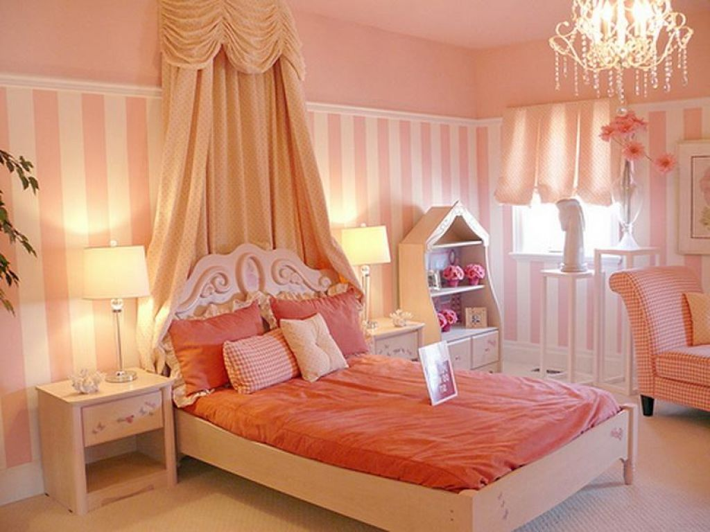 Pretty Shared Bedroom Designs For Girls: 50 Best Princess Theme Bedroom Design For Girls
