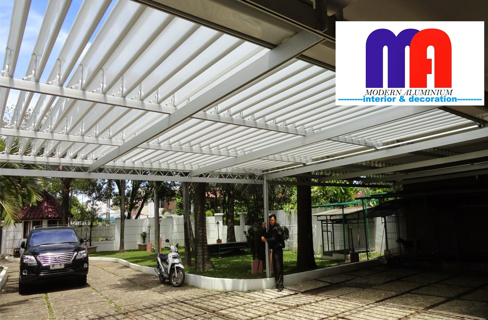 Video Atap Buka Tutup Aluminium Modern Aluminium