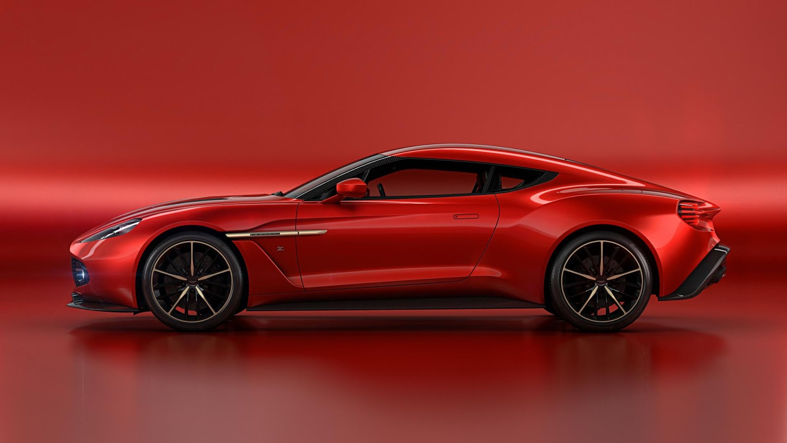 V12 Vanquish Interior 2016 Aston Martin Vanq...