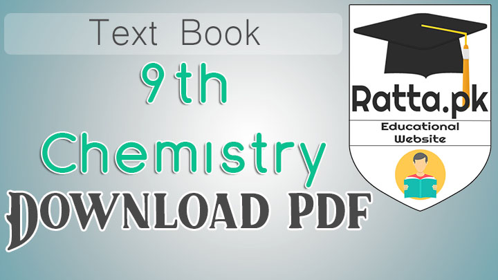 Matric 9th Class Chemistry English medium text book pdf Download
