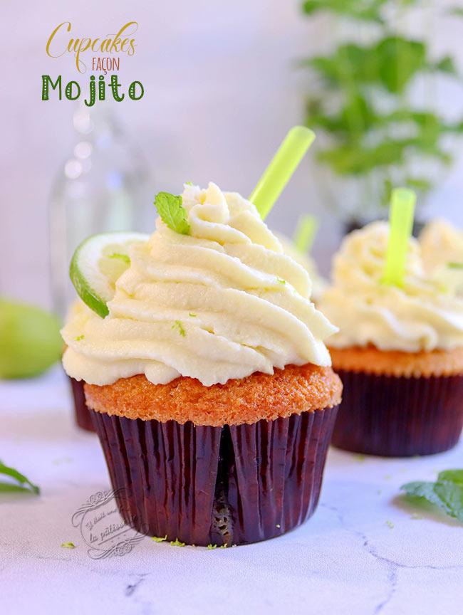 recette cupcakes menthe citron vert