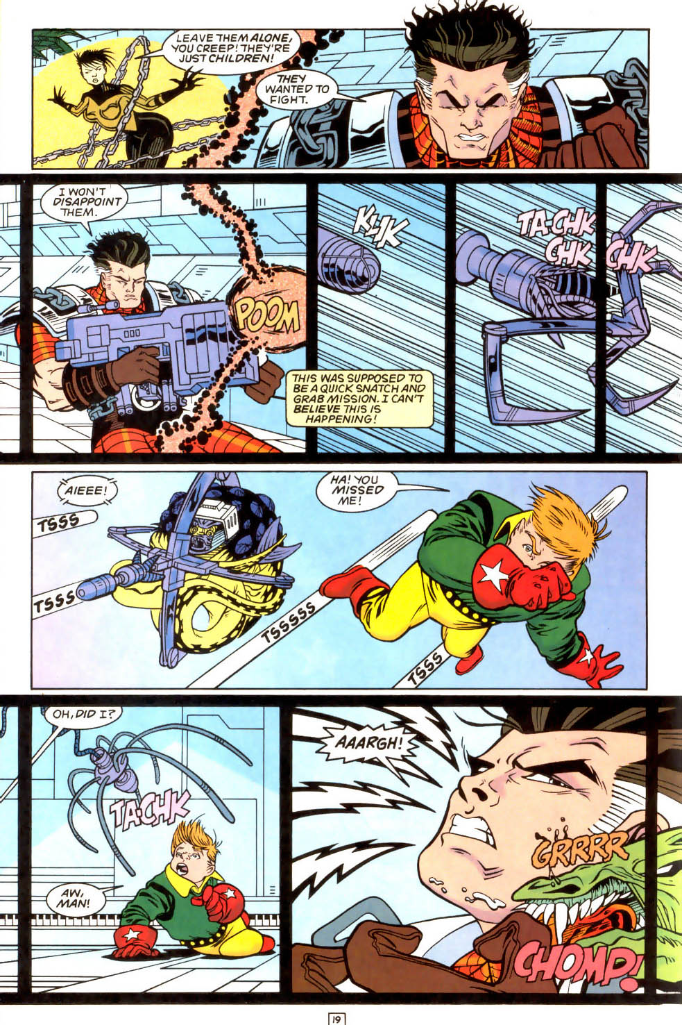 Legion of Super-Heroes (1989) 51 Page 19