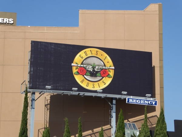 Guns N Roses teaser billboard