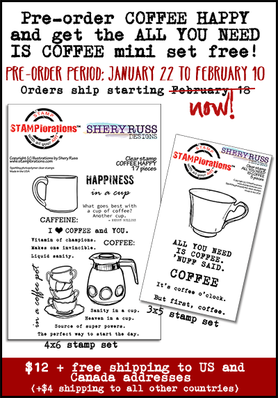 COFFEE HAPPY + All You Need Is Coffee Mini Set Pre-Release SALE