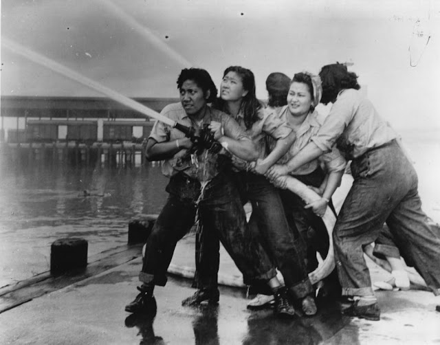 pearl harbor female firefighters from 1941