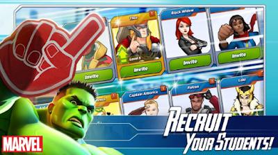 Marvel Avengers Academy Apk, Kategori : Petualangan,