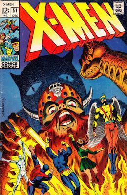 X-Men #51, Jim Steranko