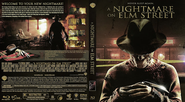 A Nightmare on Elm Street Bluray Cover