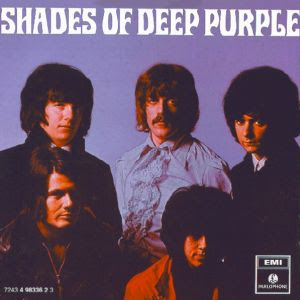 Portada del primer Lp de Deep Purple de 1968: Shades of Deep Purple