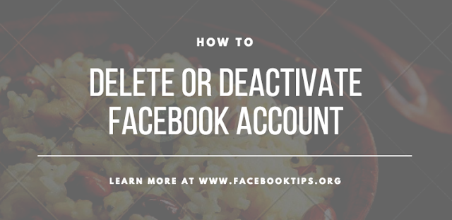 How I Deleted My Facebook Account Permanently | Deactivate Facebook Account Temporarily?