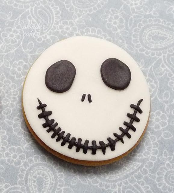 galletas con fondant de Jack Skeleton - 2