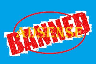 Penyebab Akun Adsense Dibanned/nonaktif Oleh Google