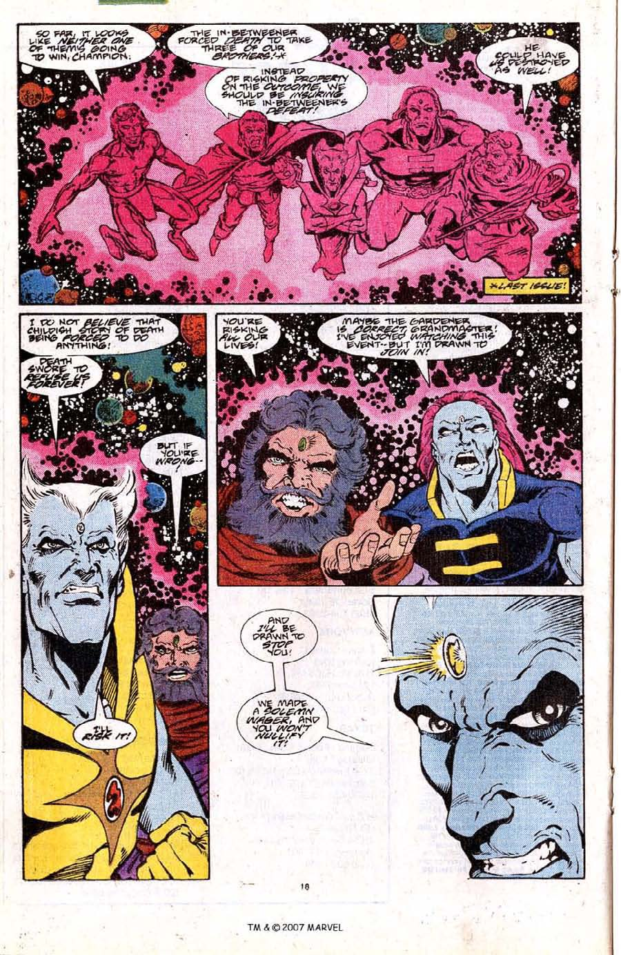 Read online Silver Surfer (1987) comic -  Issue #18 - 20