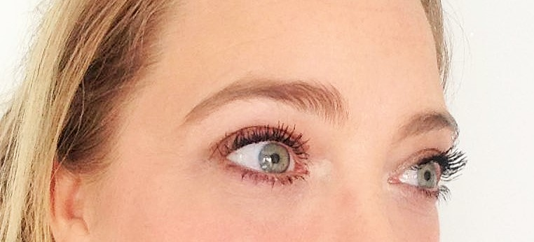 Wearing Tarte Lights Camera Lashes
