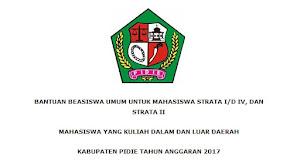 Beasiswa Skripsi - Tesis dari Pemerintah Kabupaten Pidie