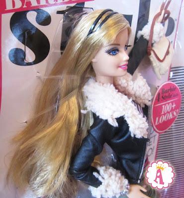 Кукла барби с ресницами 3d серия Barbie Style 2013 - 2014