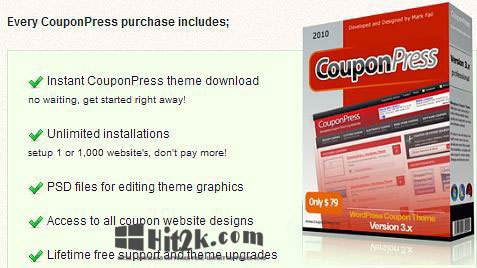 CouponPress 6.2.2  Theme for WordPress  and  Coupon Script