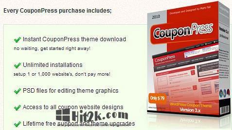 CouponPress 6.2.2  Theme for WordPress  and  Coupon Script