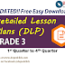 GRADE 3 DLP - Detailed Lesson Plans (UPDATED)