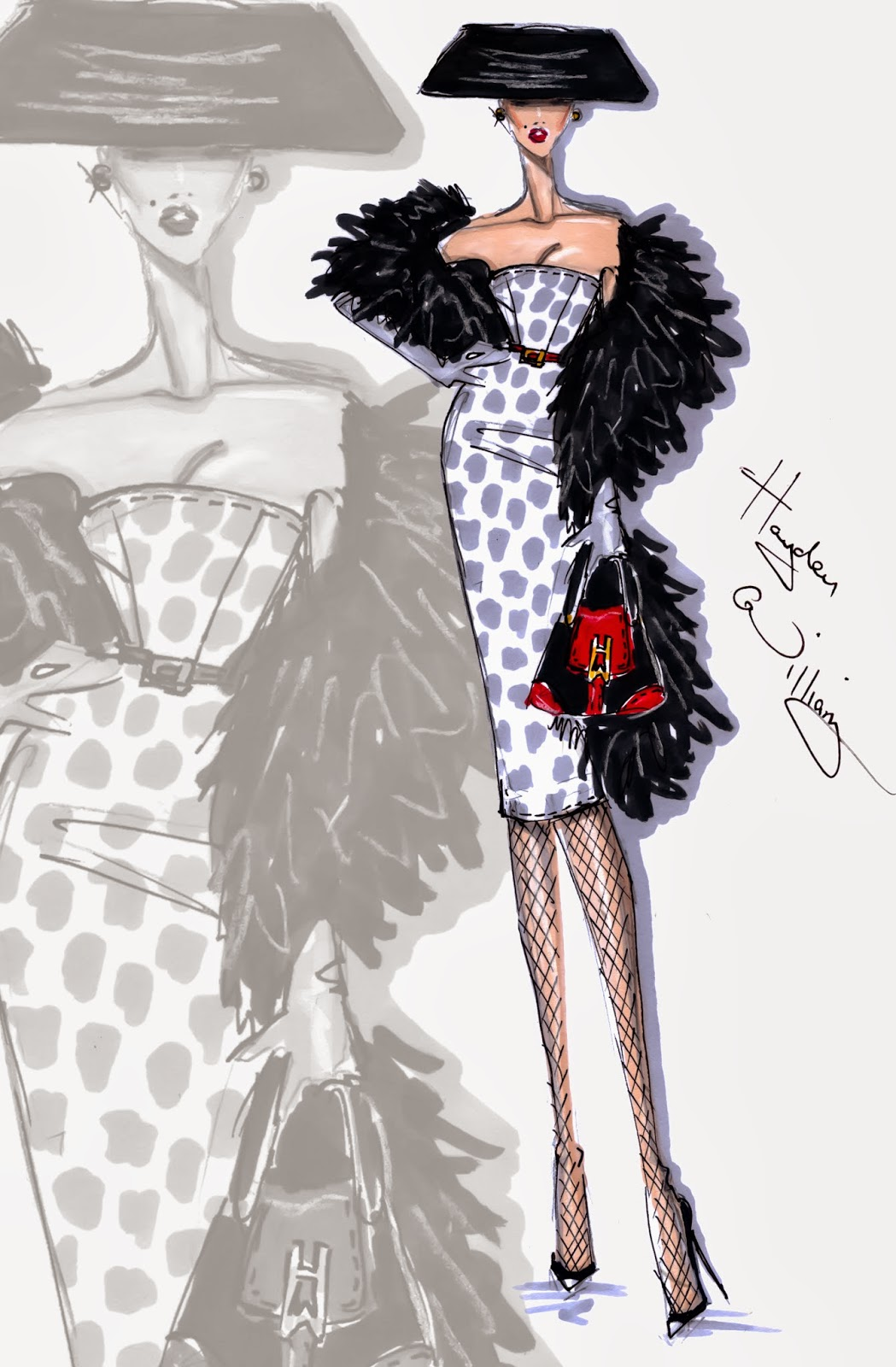 Hayden Williams Fashion Illustrations Who S That Lady