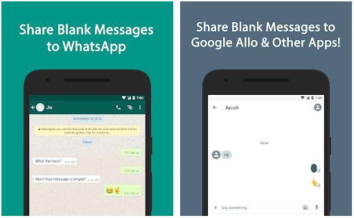 Cara Mengirim Pesan Kosong di Messenger Facebook Cara Mengirim Pesan Blank (Kosong) di WhatsApp Tanpa Aplikasi
