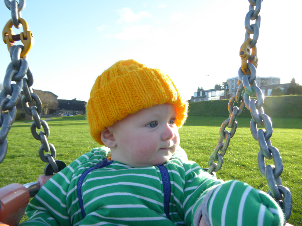 Outdoor Activities for Babies: Swings